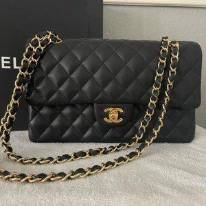 2021 New Chanel black classic Shoulder Bags